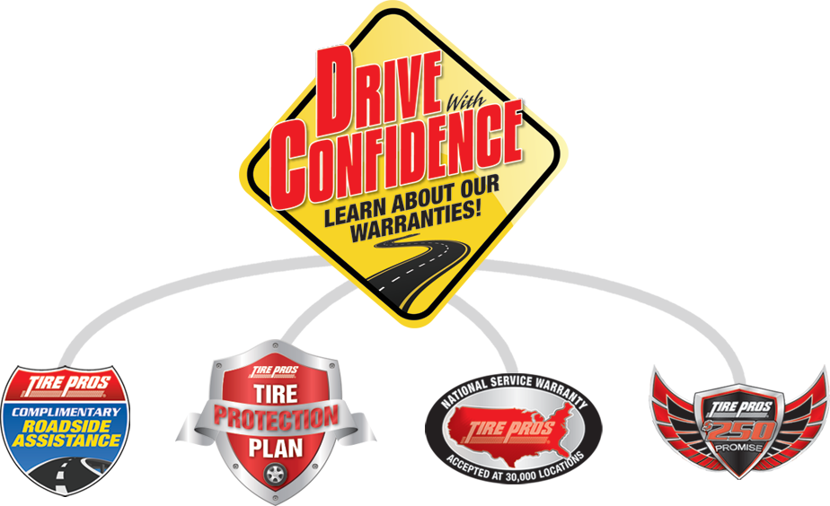 Tire Pros Drive With Confidence Guarantee at Carmerica Tire Pros in Sellersburg, IN